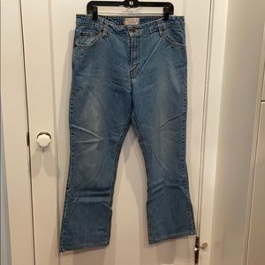 Levi's Stretch and Rise Bootcut Jeans